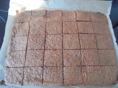 Pavé au chocolat et créme anglaise (29)