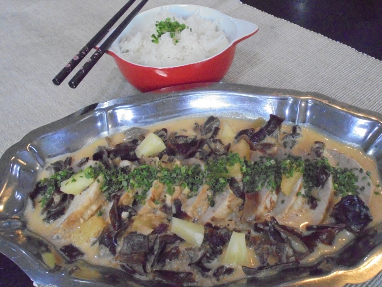 roti de porc ananas et lait de coco (14)