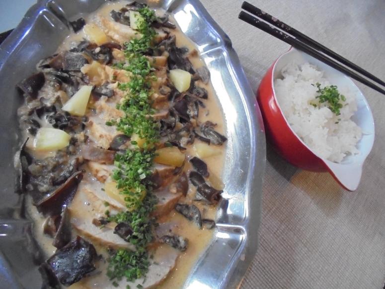 roti de porc ananas et lait de coco (3)