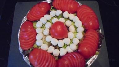 Brochette de poulet mariné à l'acienne et salade d'été (10)
