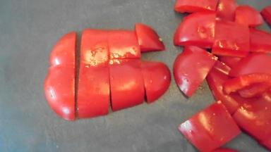 Brochette de poulet mariné à l'acienne et salade d'été (17)