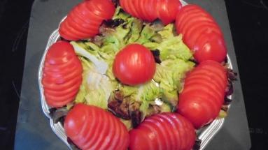 Brochette de poulet mariné à l'acienne et salade d'été (9)