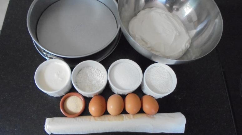 Tarte au fromage blanc noix de coco et pudding chantilly (18)
