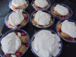 Tiramisu, fraises, rhubarbes et basilics (7)