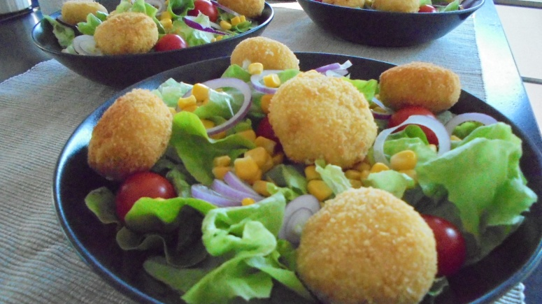 Salade de chèvre chaud (2)