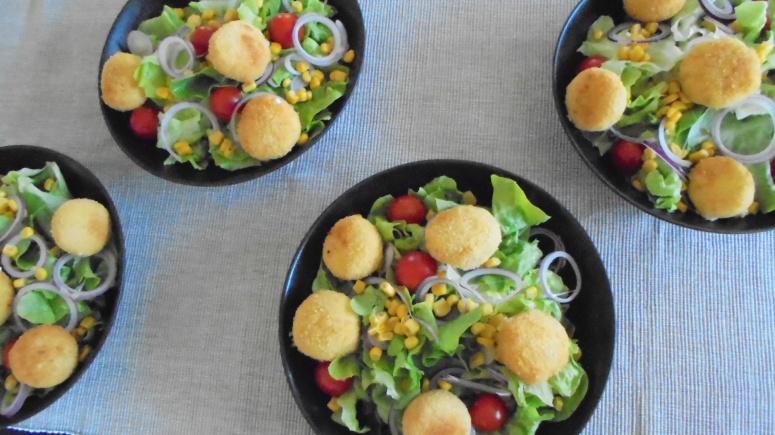 Salade de chèvre chaud (3)