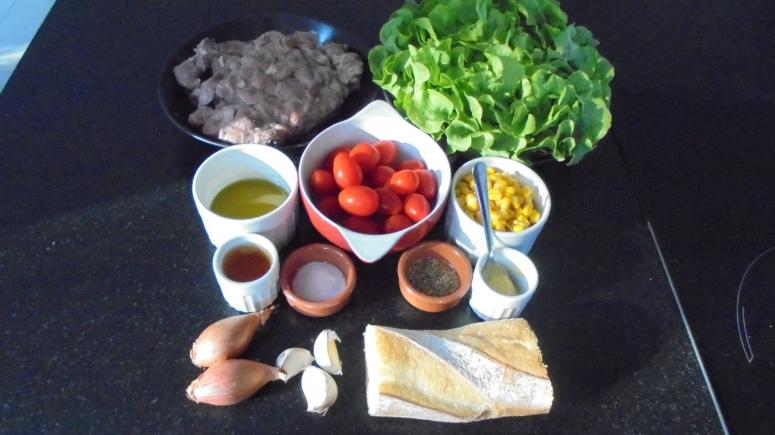 Salade de gésiers de volaille (10)