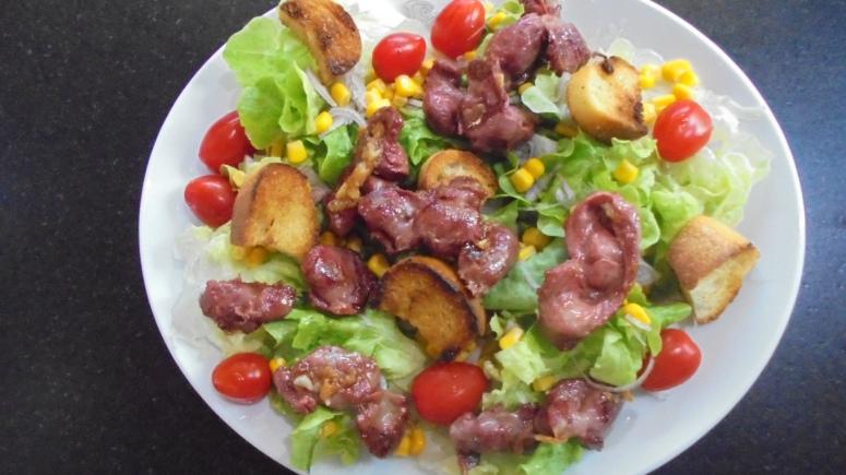 Salade de gésiers de volaille (8)