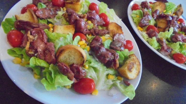 Salade de gésiers de volaille (9)