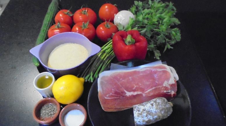 Tomates farcies au taboulé (3)
