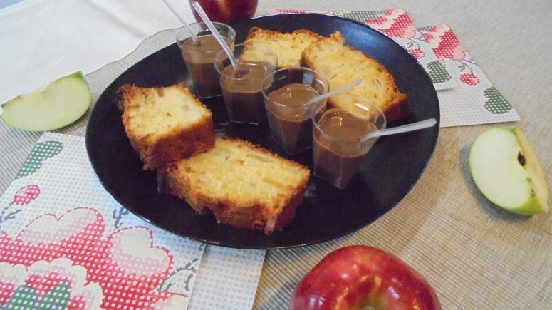 cake-mangue-pomme-granny-smith-et-creme-anglaise-au-chocolat-21