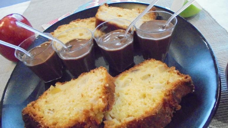 cake-mangue-pomme-granny-smith-et-creme-anglaise-au-chocolat-22