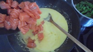 Liguine au saumon et crevettes (20)