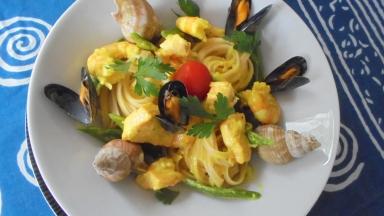 Liguine au saumon et crevettes (28)