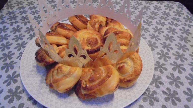 Feuilletée à la frangipane façon galette des rois (1)