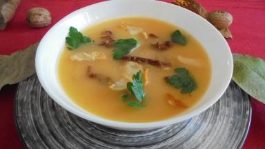 Soupe de butternut aux tomates séchées et à l'ail (1)