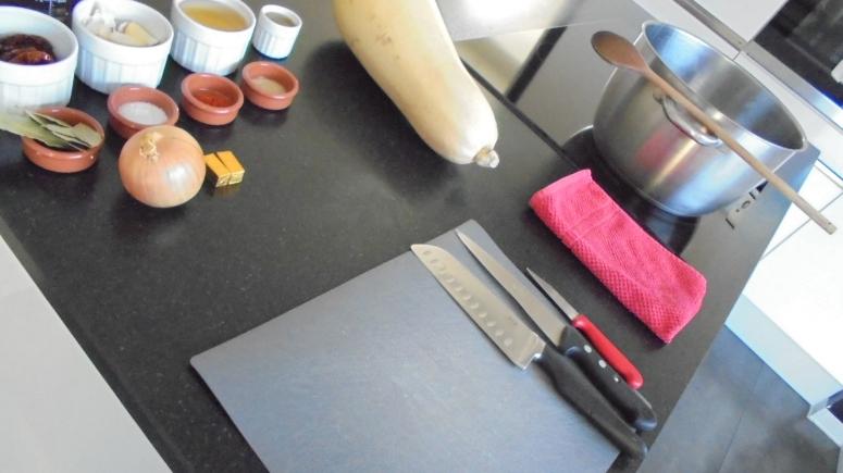 Soupe de butternut aux tomates séchées et à l'ail (3)