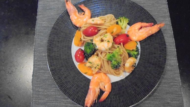 spaghetti aux crevettes (21)