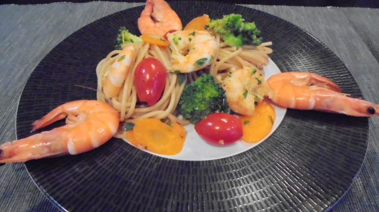 spaghetti aux crevettes (23)