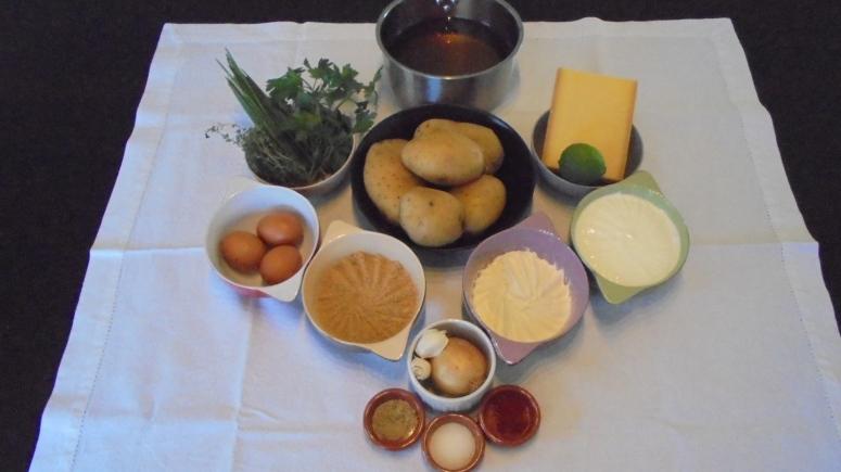 Boules croustillants de pomme de terre (12)