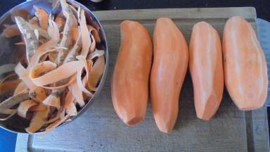 Boulettes de boeuf et patates douce (2)