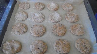 Cookies au chocalat, noix de coco et citron vert (14)