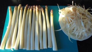 Orecchiettes aux asperges et jambon fumé (8)